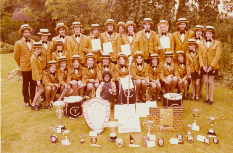 Chesterfield Toppers 1974 League Champions