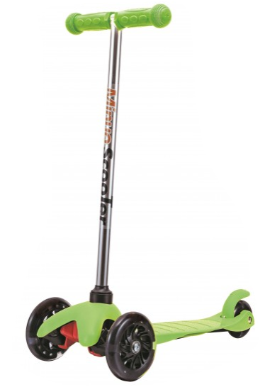 3 Wheels Scooter - Green
