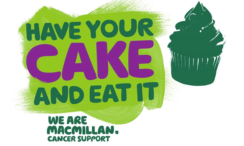 We're hosting a Macmillan Cancer Support - World's biggest coffee morning