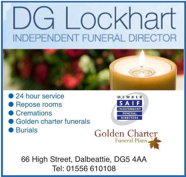 Link to DG Lockhart funeral director