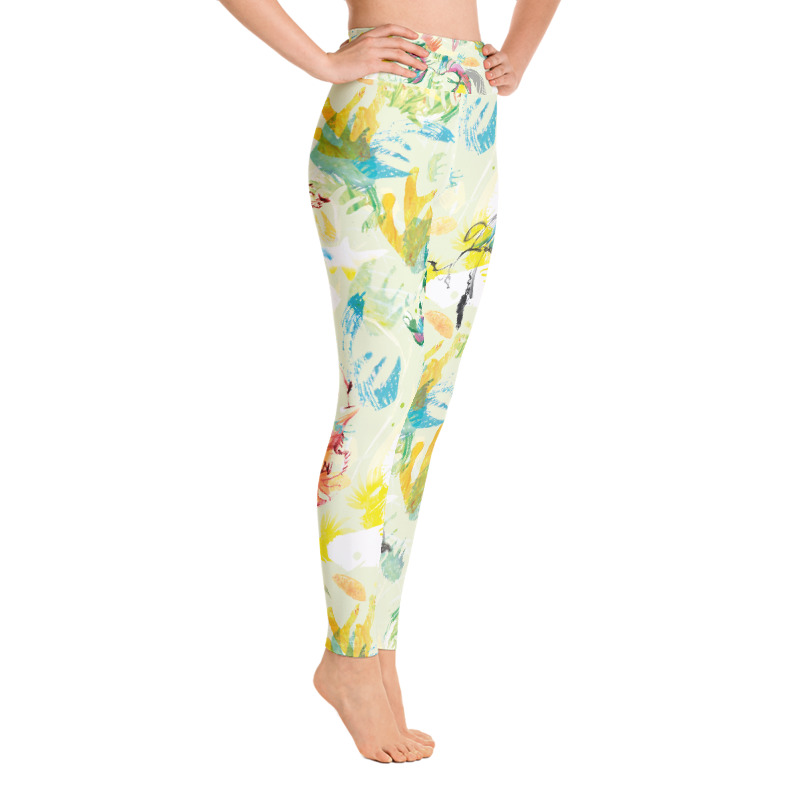 'Tiger Summer'  Yoga Leggings