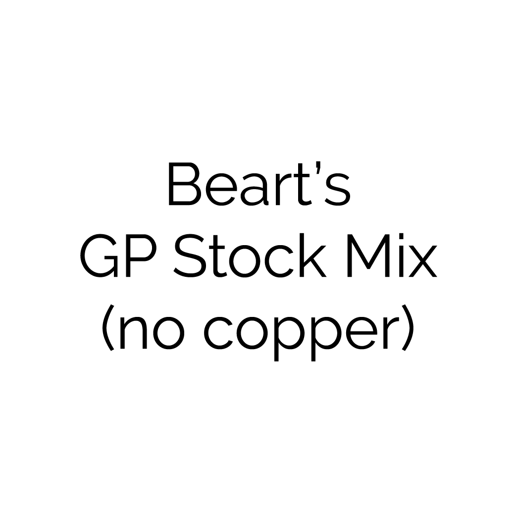 Beart's General Purpose Stock Mix (No Copper)