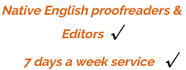 'academic proofreading services uk'