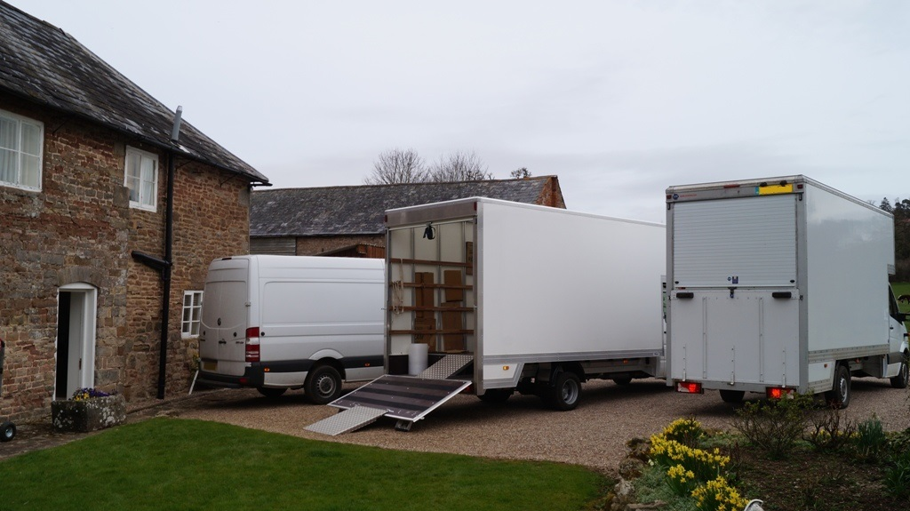 Wide range of moving service packages