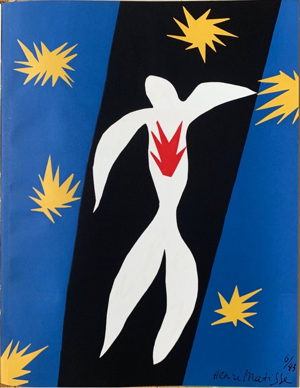after Henri Matisse - La Chut d' Icare