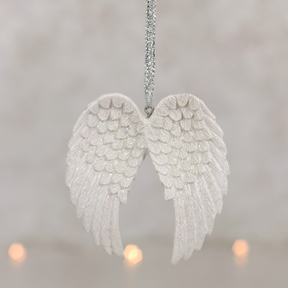 Double Angle wings - hanging decoration