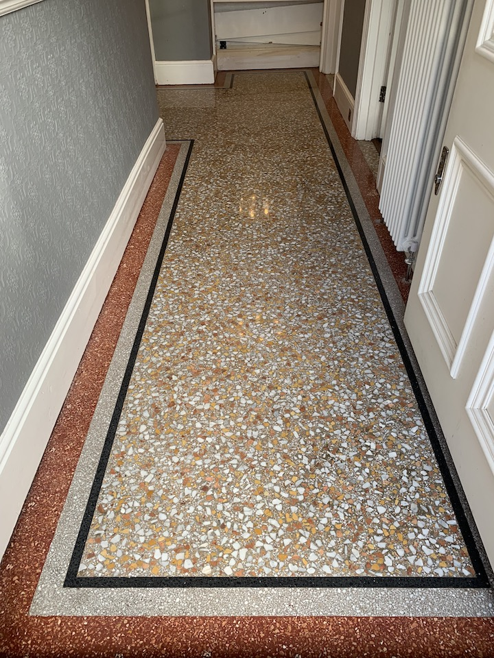 terrazzo restoration after