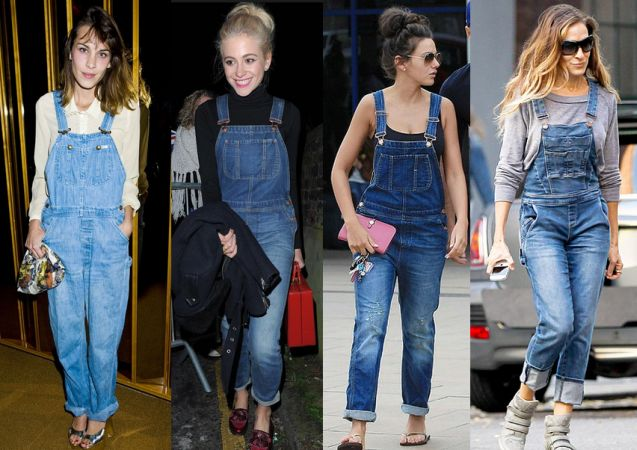 Am I too old to wear Dungarees?