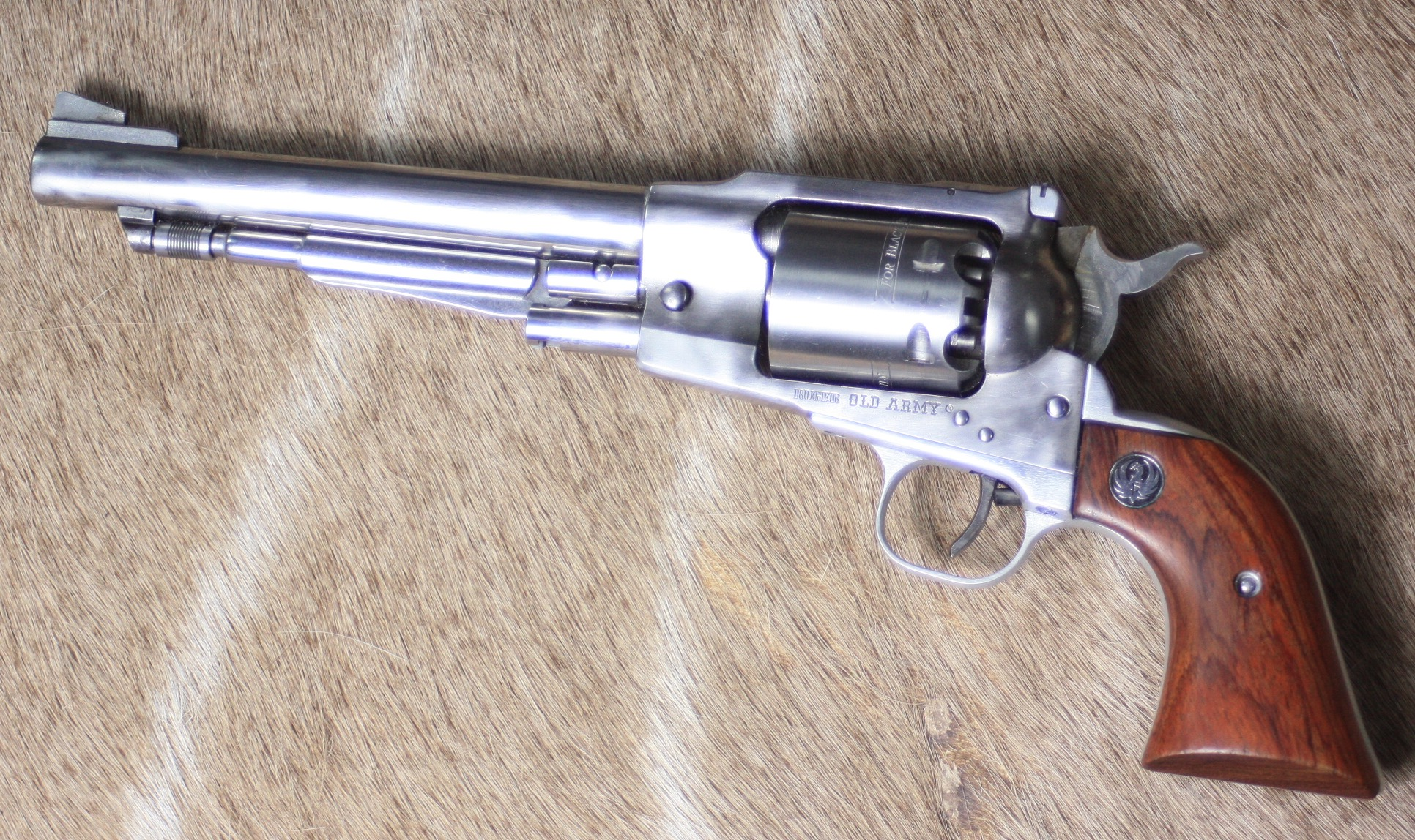 .45 PERCUSSION REVOLVER RUGER, MODEL 'OLD ARMY'