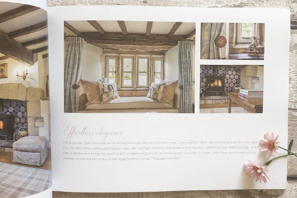 Inside Spread of the Bespoke Brochure Design for Low House on the Market with VMove Consultants.