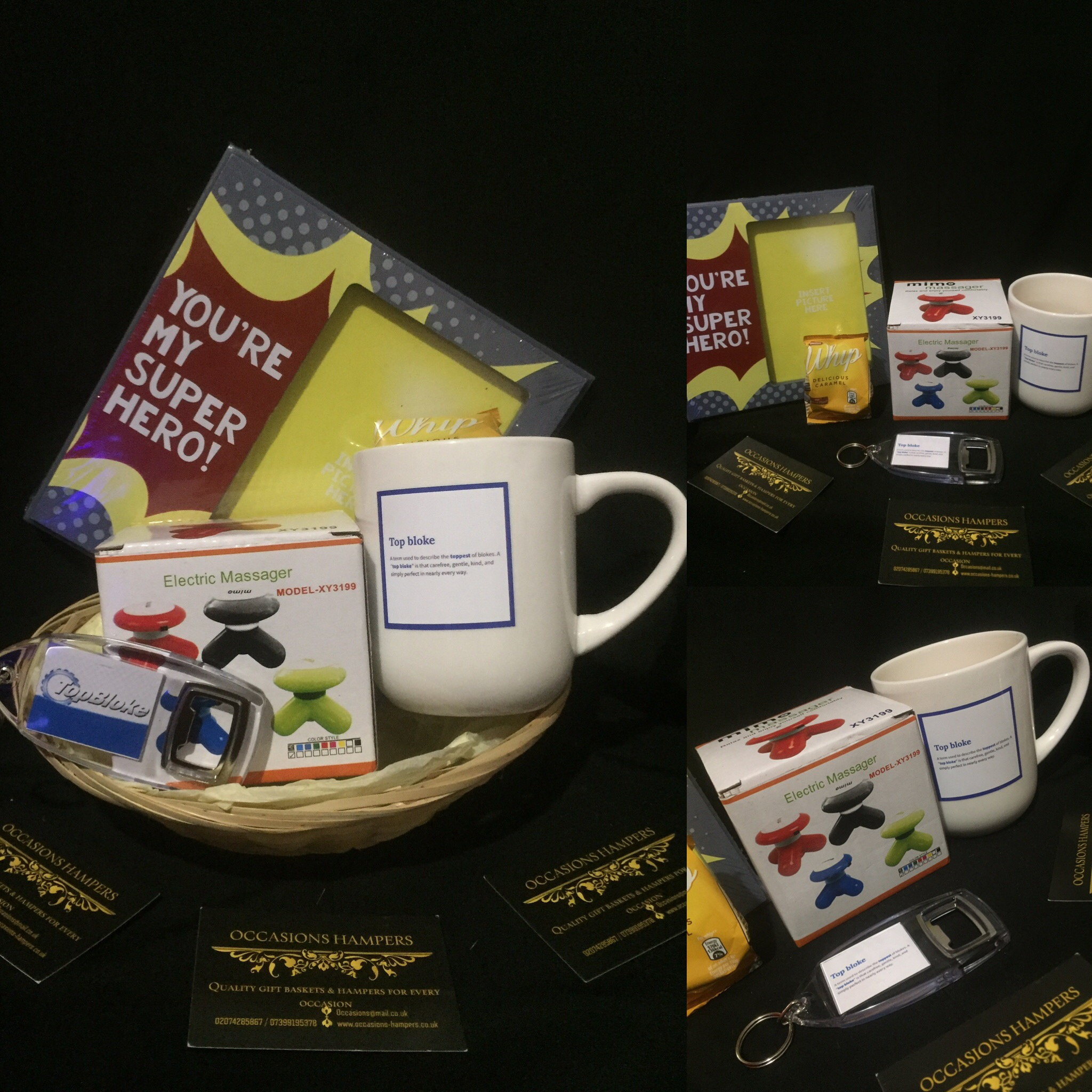 'Top Bloke' Ultimate Gift Basket