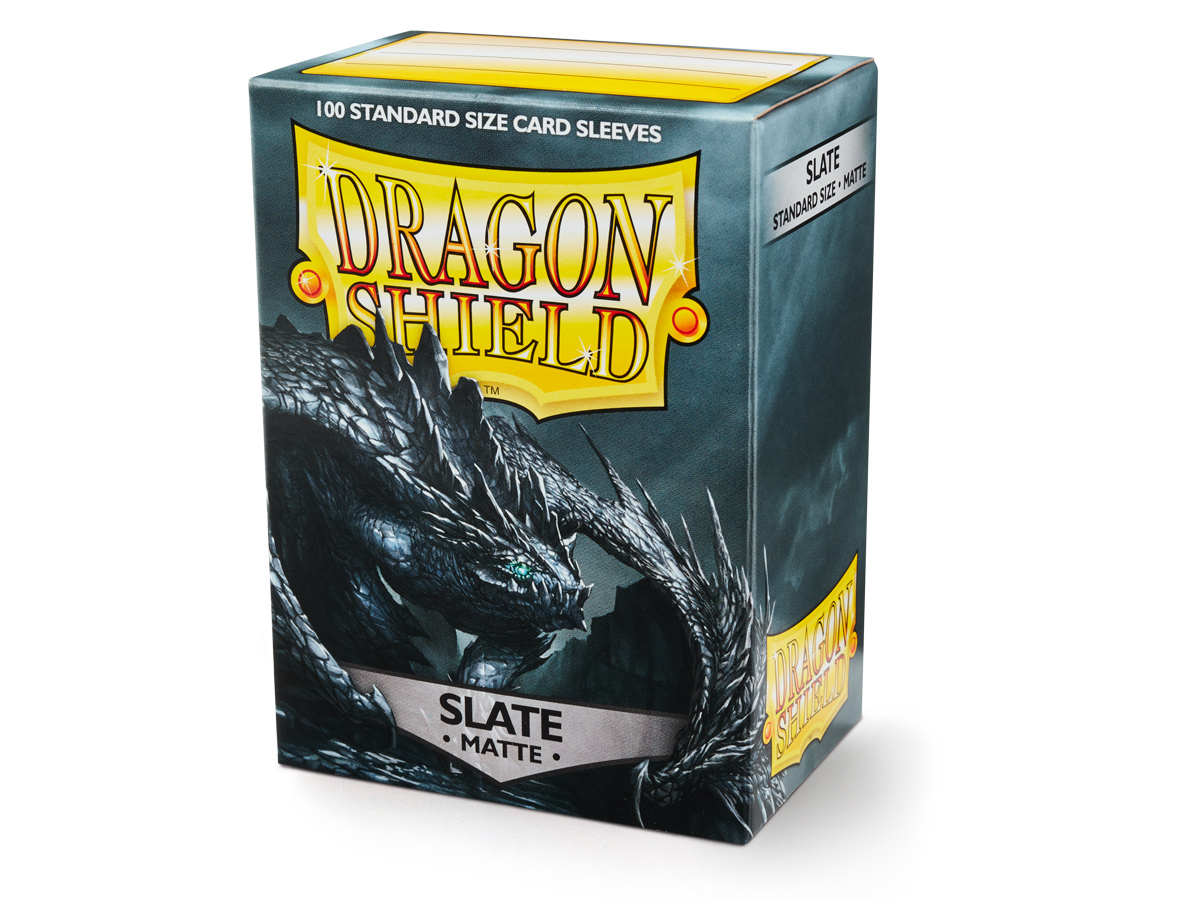 Dragon Shield Slate Sleeves (100 ct.)