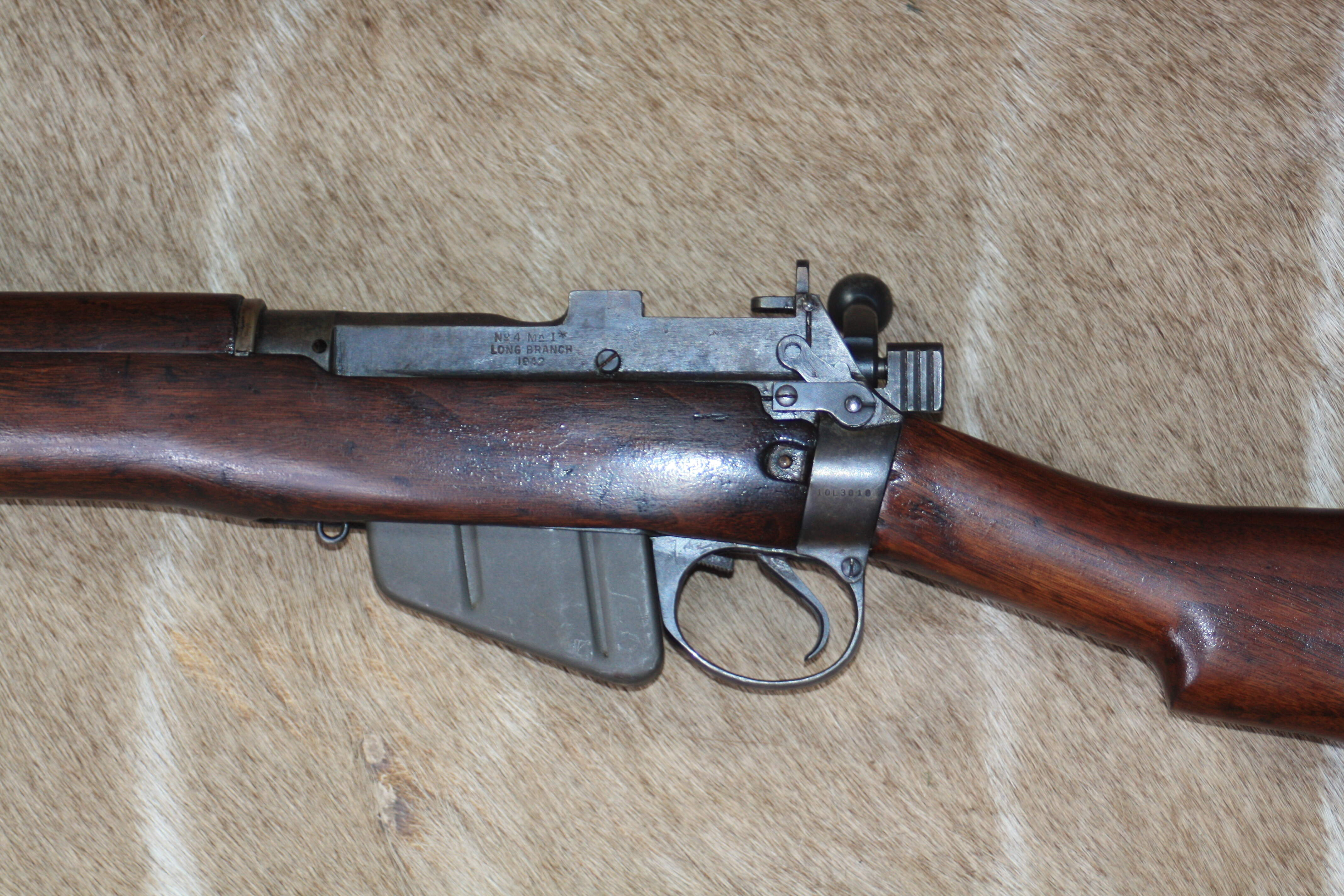 Lee Enfield .303 No4 Mk1* Longbranch 1942 Bolt Action Service Rifle