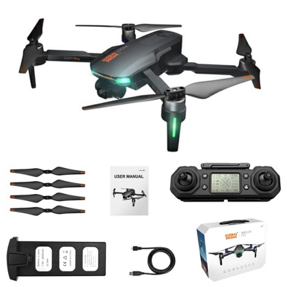 GD91 Pro 4K GPS 2 Axis Brushless Folding Aerial