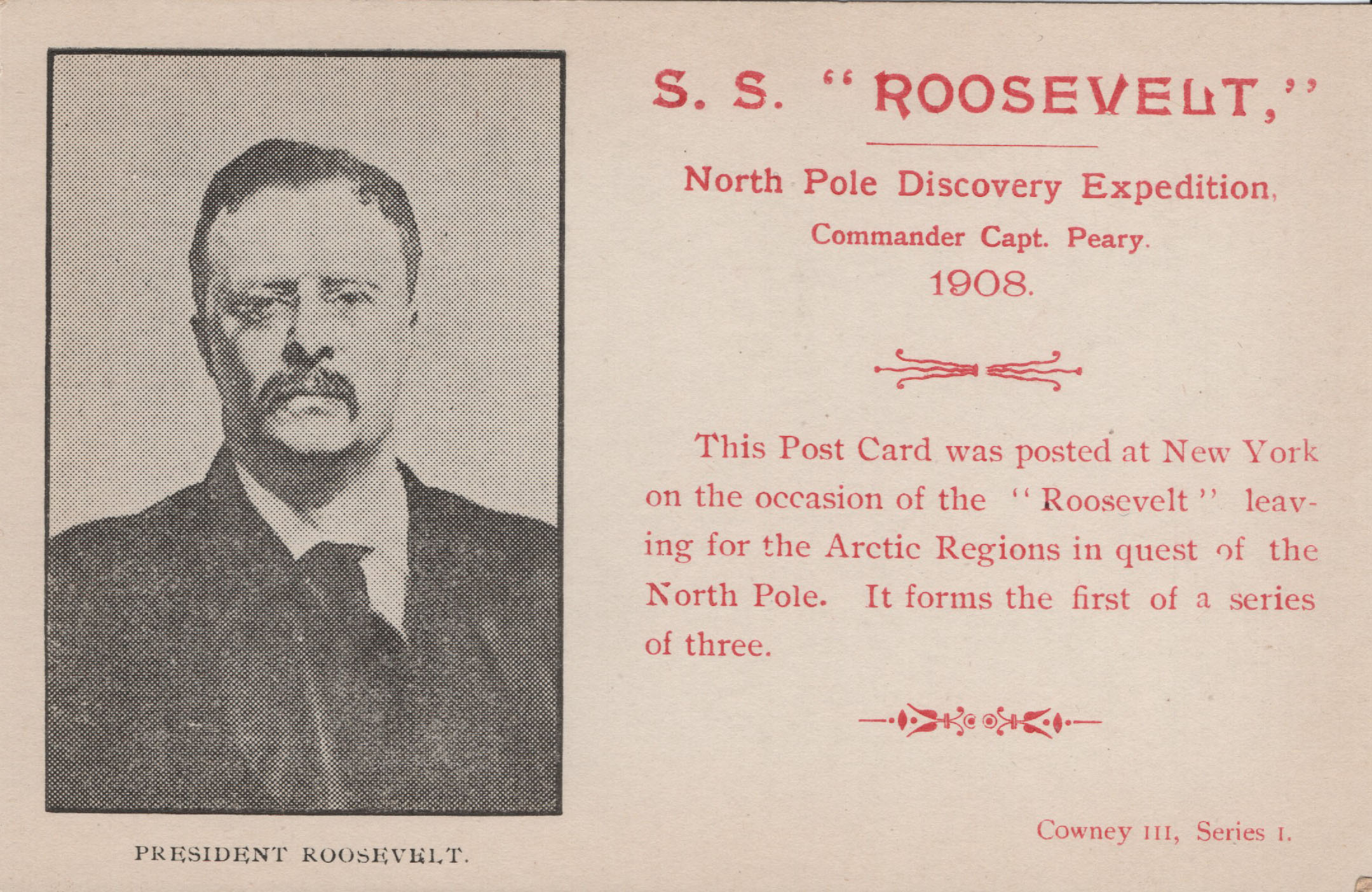 Peary North Pole Discovery Expedition 1908-1909