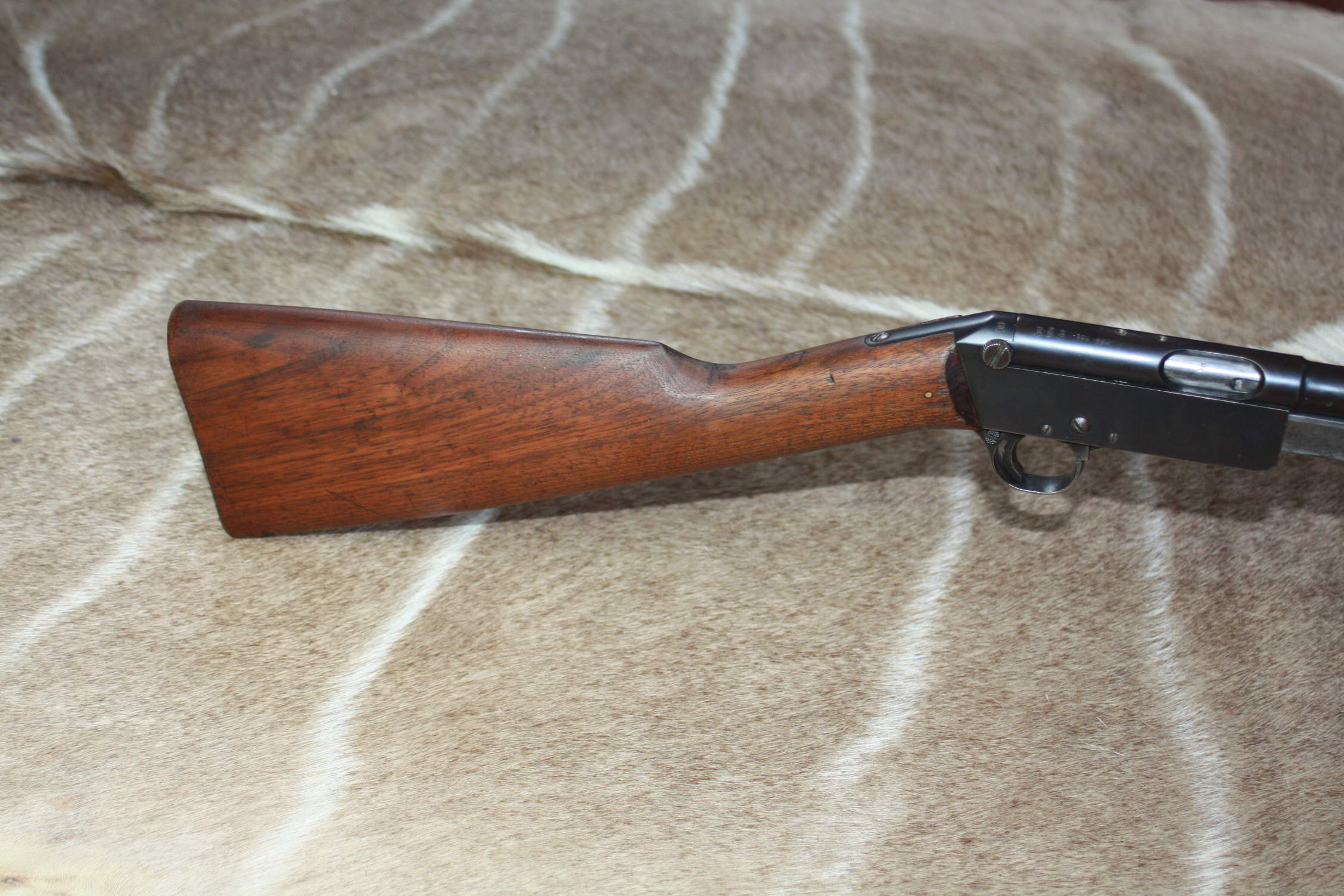 B.S.A. .22LR Pump Action Sporting Rifle. Shoots .22 LR and .22 Short.