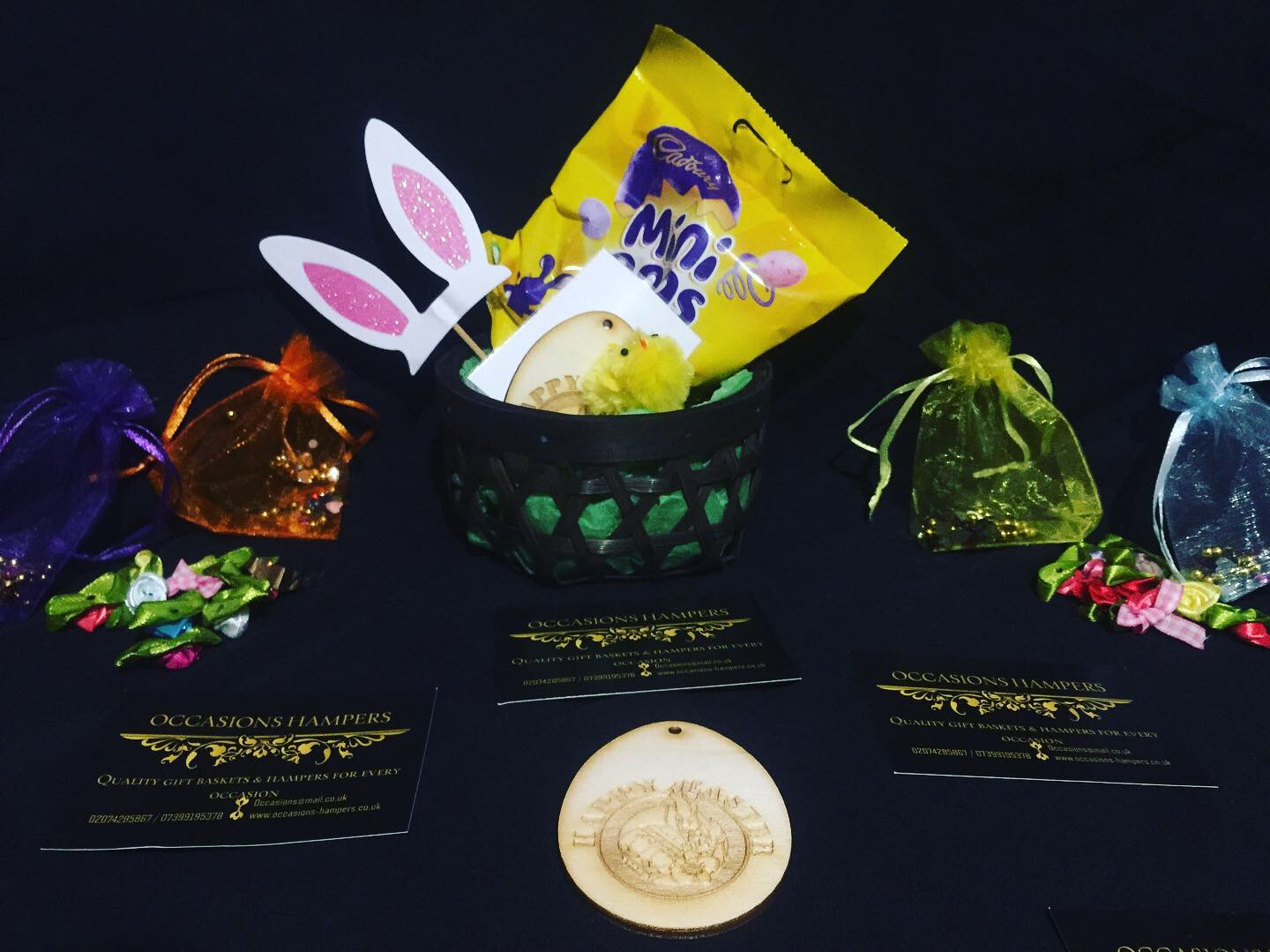 Easter Mini EGG Baskets