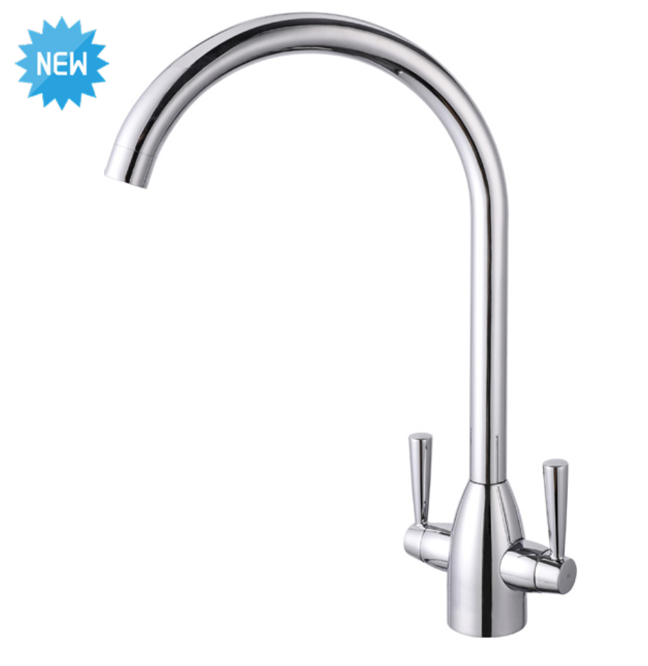Eco Gemello Kitchen Mixer Tap