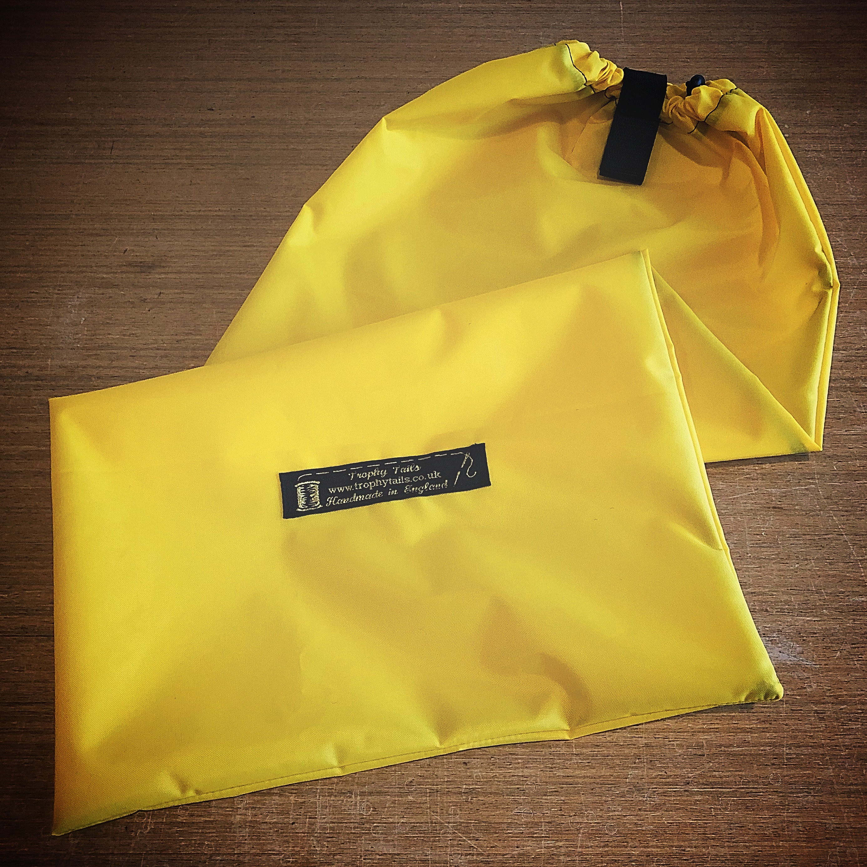 Heavy Duty Waterproof Tail Bag - Yellow