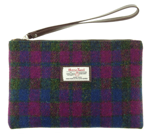 Harris Tweed Pouch in Colour 54 GA009