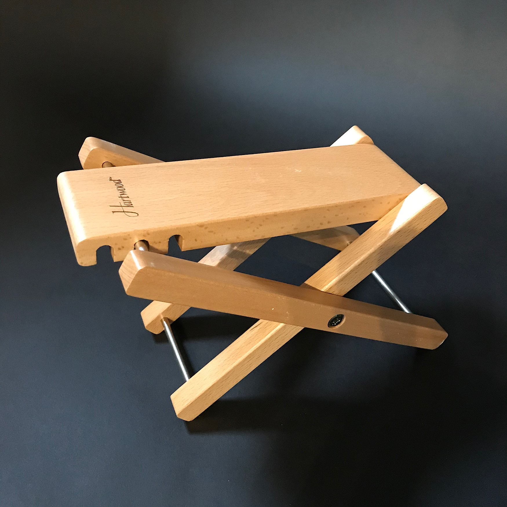 Guitarist's Folding Wooden Footstool - New Stock