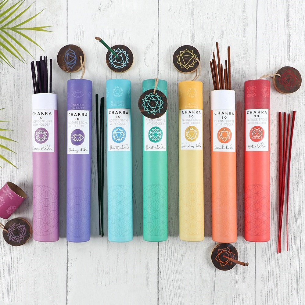 ORANGE SACRAL CHAKRA INCENSE STICKS