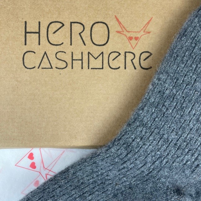 The Grey Cashmere Socks