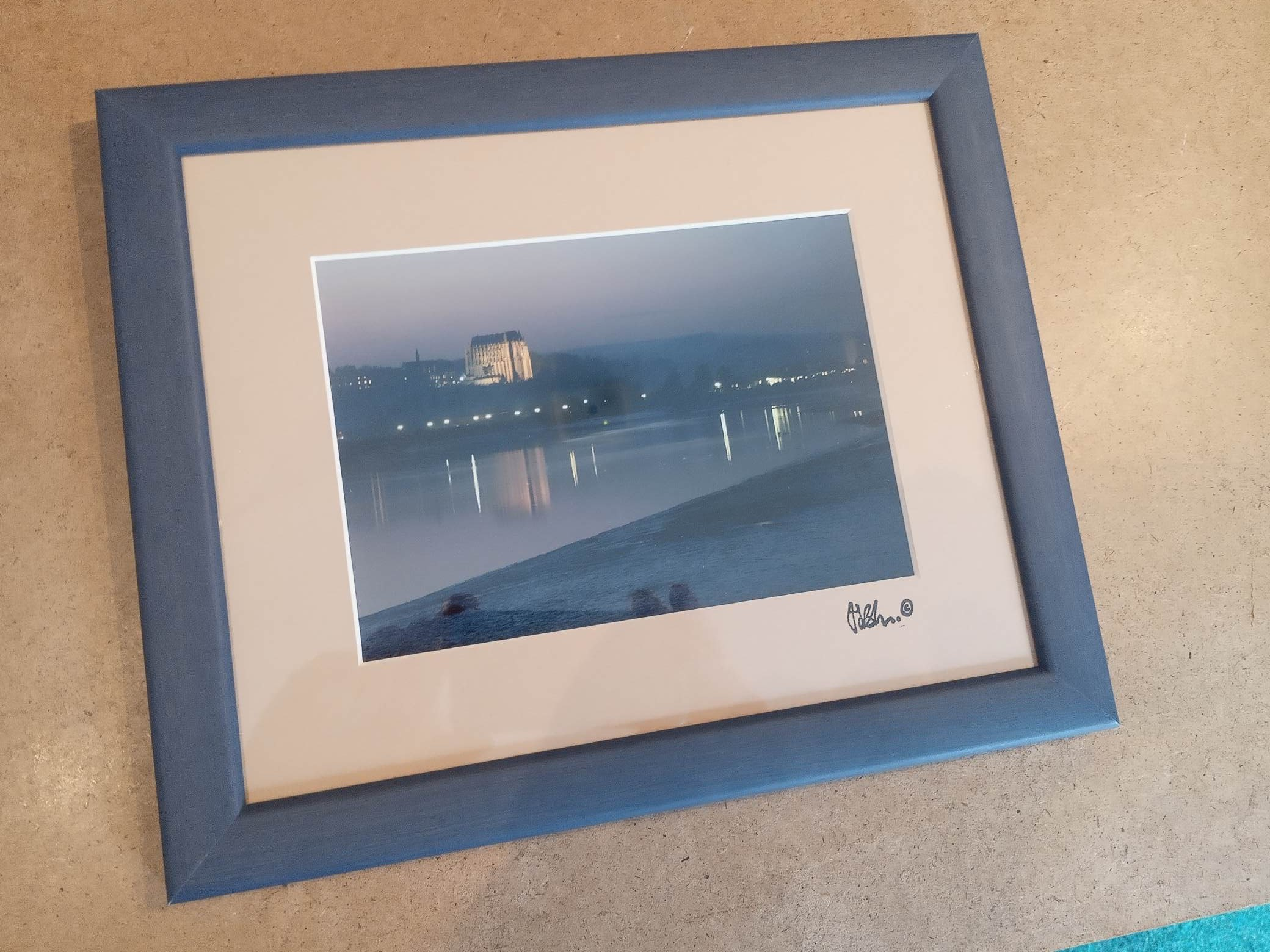Lancing College At Night (Framed)