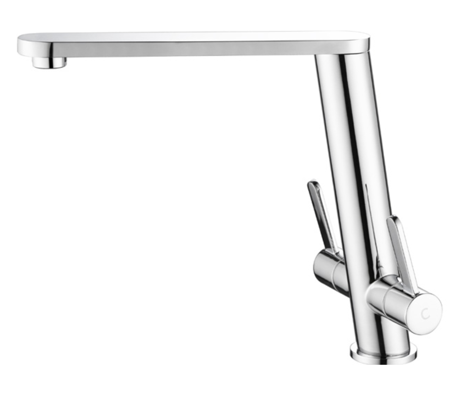 Dublin Kitchen Mixer Tap (Brushed)
