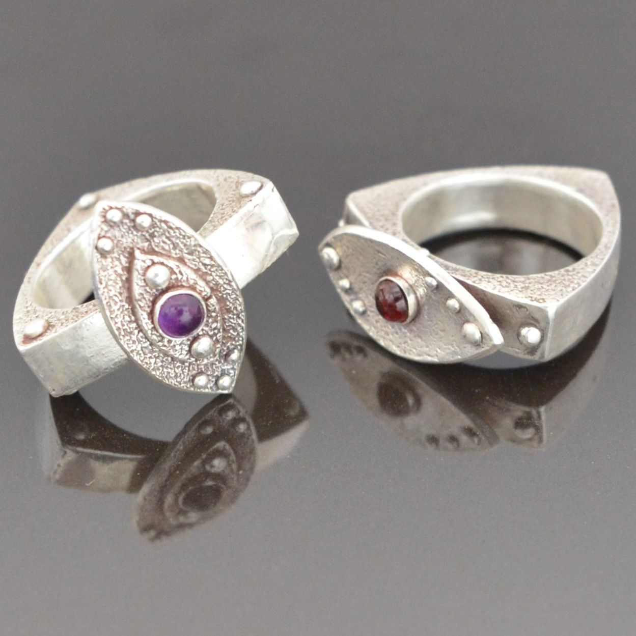 Infinity Rings by Tracey Spurgin of Craftworx Jewellery Workshops