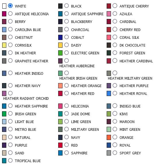 G64000 Mens Colour Optionspng