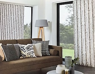 Double Aspect Vertical Blinds