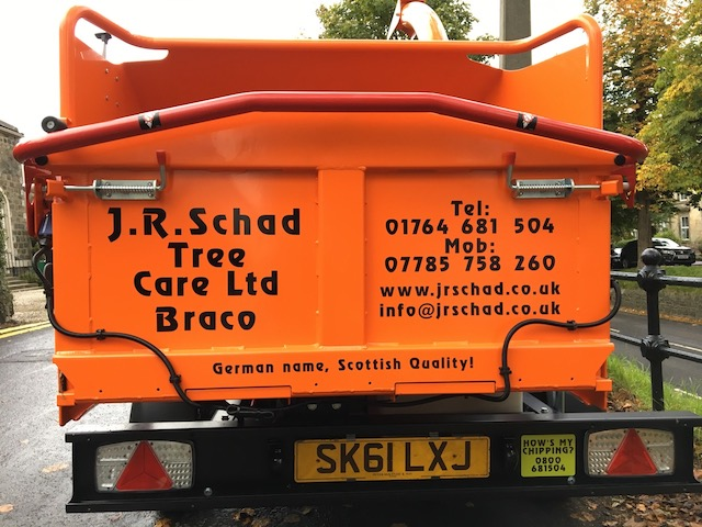 J R Schad Tree Surgeons Stirling