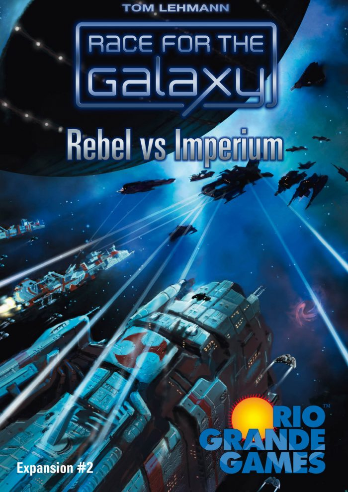 Race For The Galaxy: Rebel v Imperium