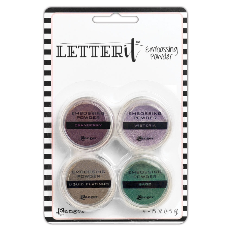 Embossing Powder 4 Piece Kit - Graceful