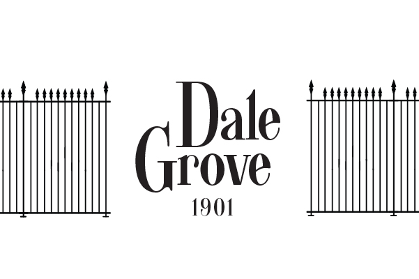 Dale Grove Built in 1901 Logo Design.