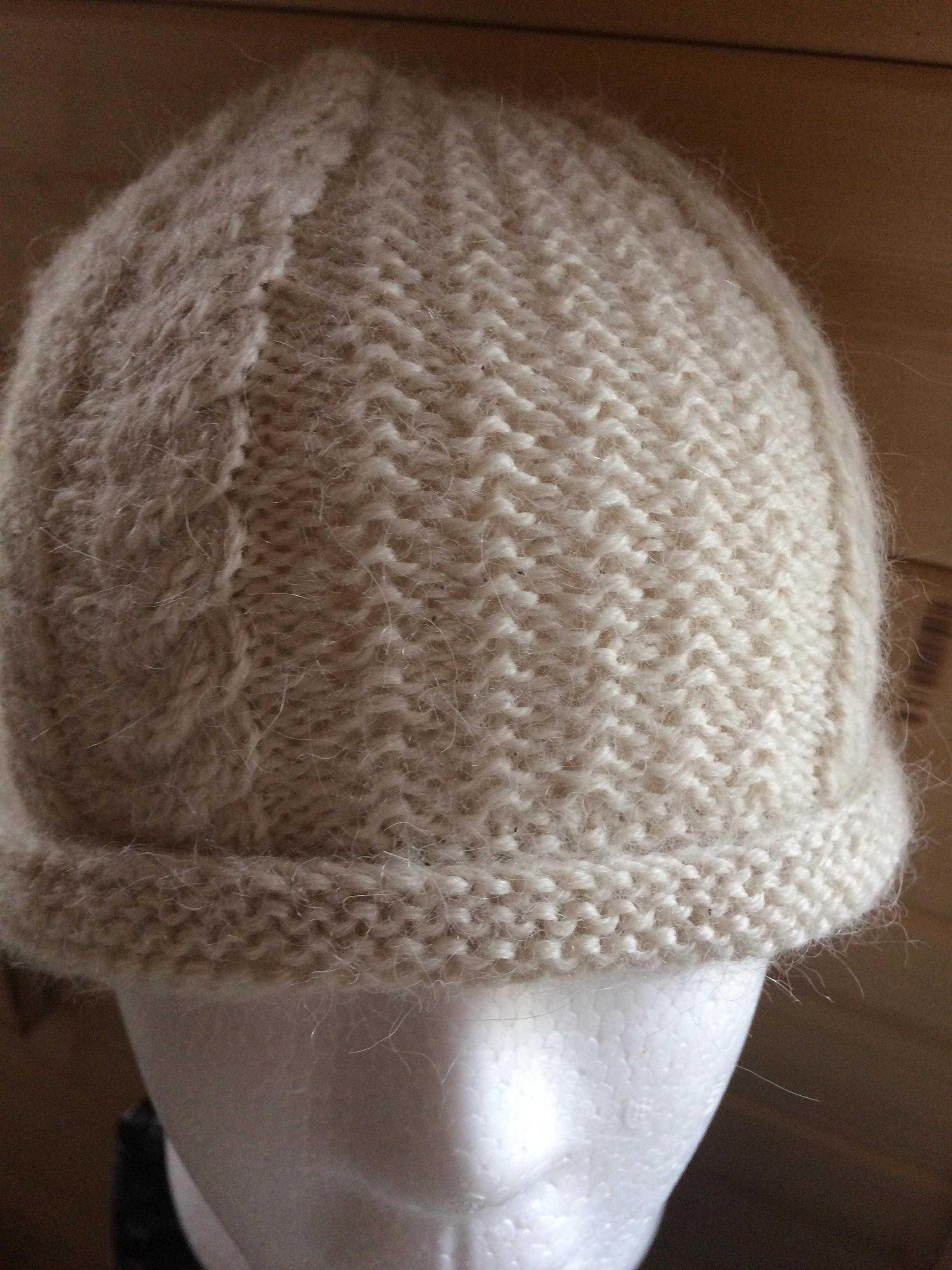 a5e5d9fb43f Classic cable knit alpaca hat set