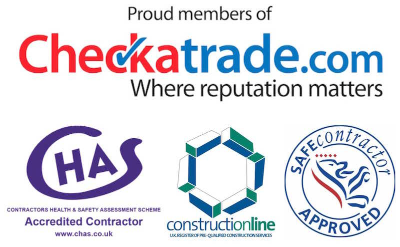 A1 UK Drains based in Reading, Berkshire are Checkatrade, CHAS, Constructionline and Safe Contractor accredited drainage contractors working throughout South East England.