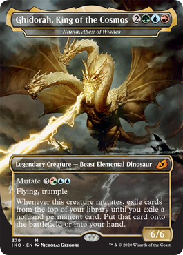 Ghidorah, King of the Kosmos (Illuna, Apex of Wishes)