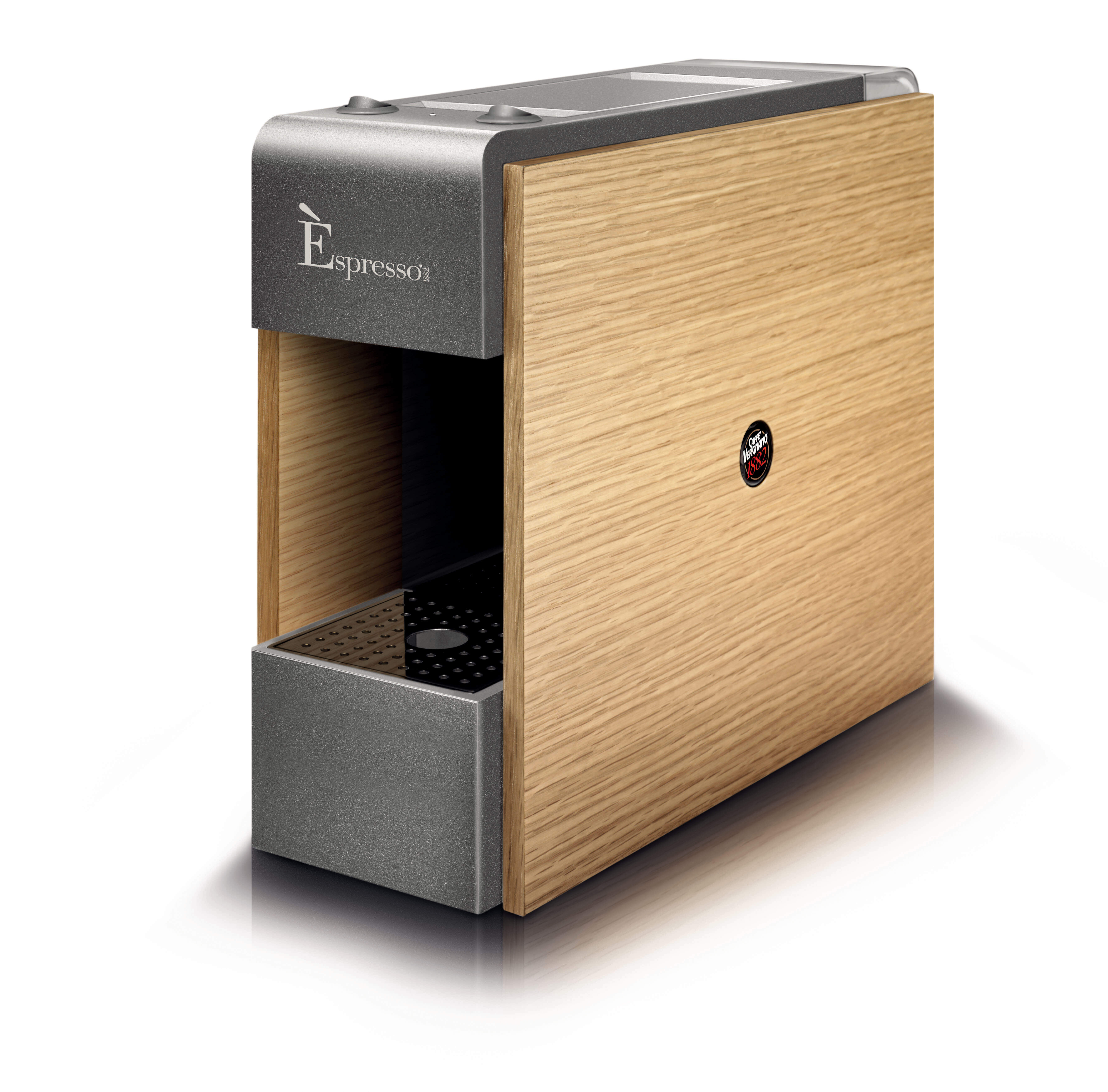 Tre Nespresso Compatibile Coffee Machine Naturale Wood