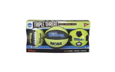 Wilson TRIPLE THE THREAT BALL SET