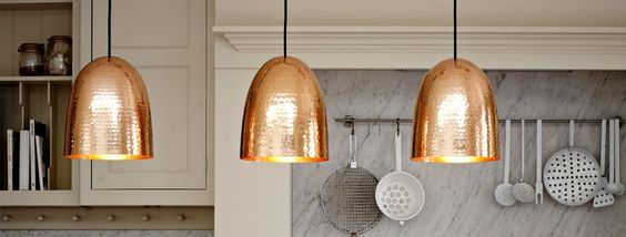 tanley large pendant light Hammered Brass available from Original BTC 1jpg