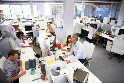 Hot desking contributing to stress - HR Magazine
