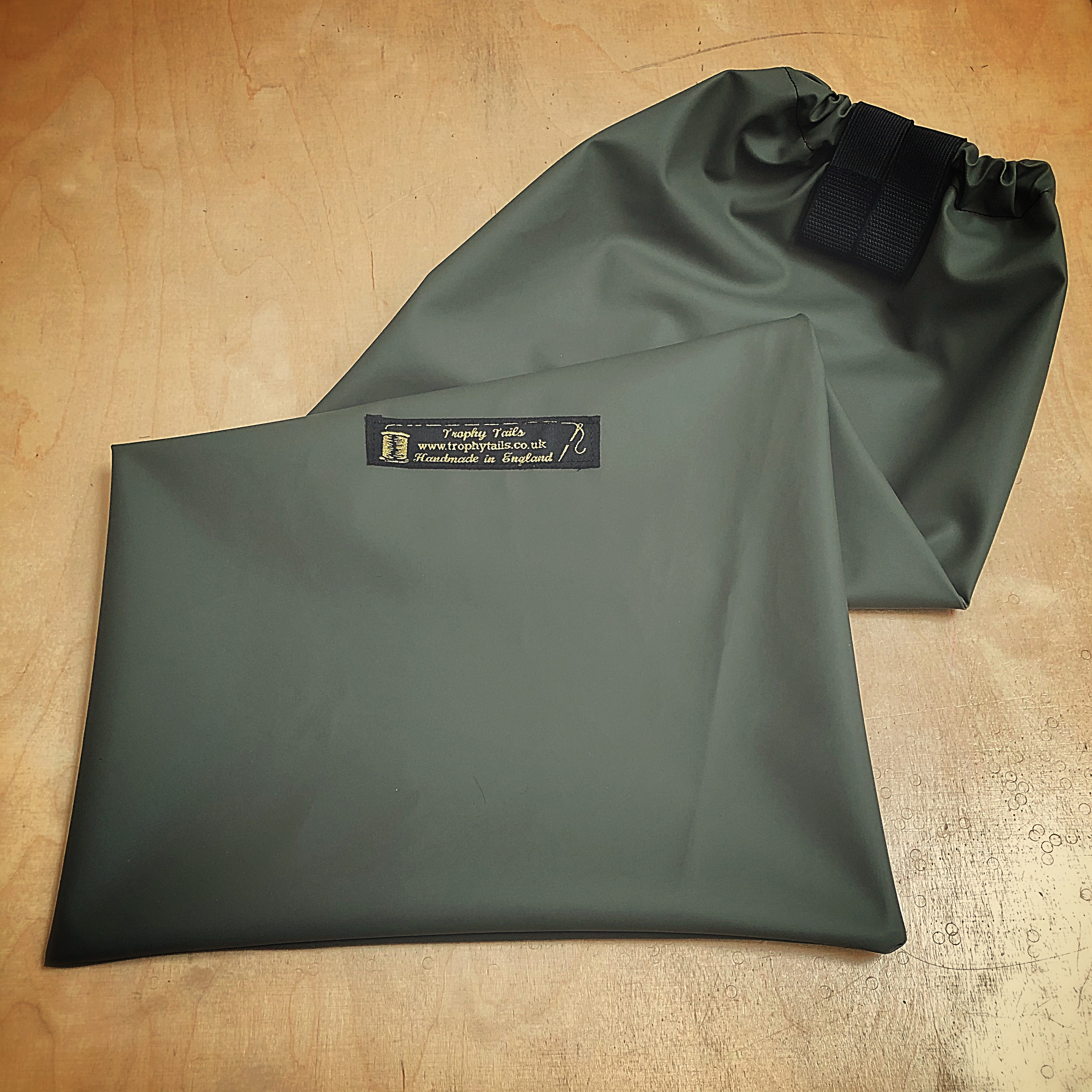 Aquaseal Ultimate Tail Bag© - Olive Green