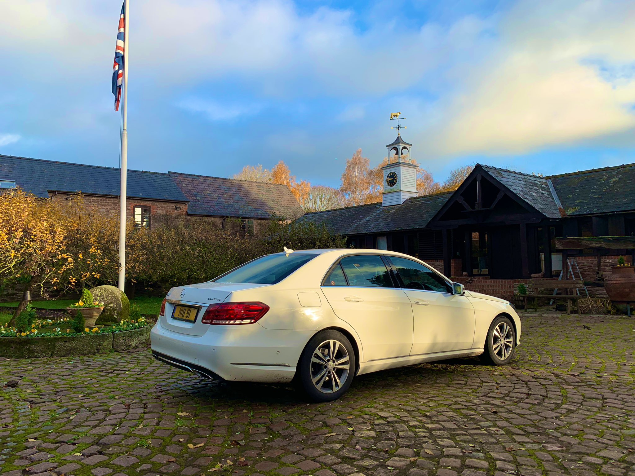 Mercedes Chauffeur Car Hereford