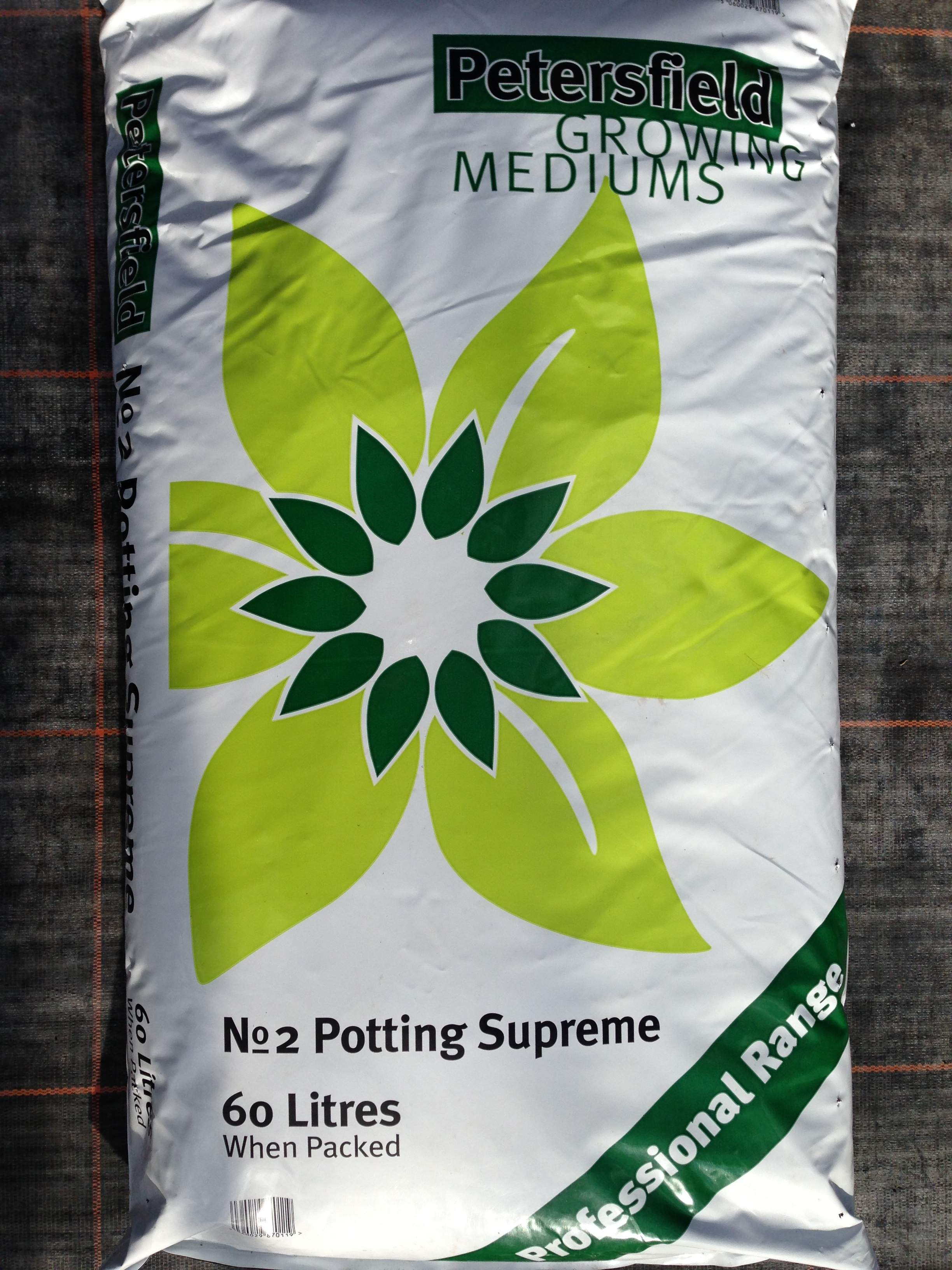 Petersfield Potting Supreme Compost £8.50