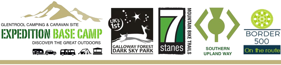 Glentrool Camping and Caravan Site is ideally situated for The Galloway Dark Sky Park, The 7Stanes Mountain Bike Trails and The Southern Upland Way