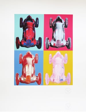 after Andy Warhol - Mercedes-Benz Formel-1-Rennwagen W125
