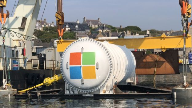 Microsoft sinks data centre off Orkney