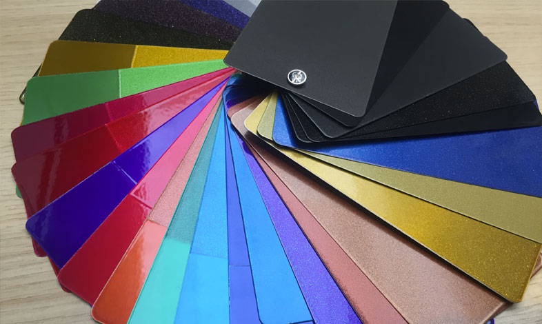 New range of colours and finishes